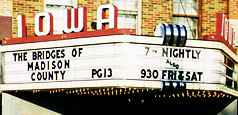 Iowa Theater Marquee
